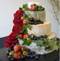 Savoury wedding cakes