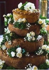 Surprising wedding cake trends