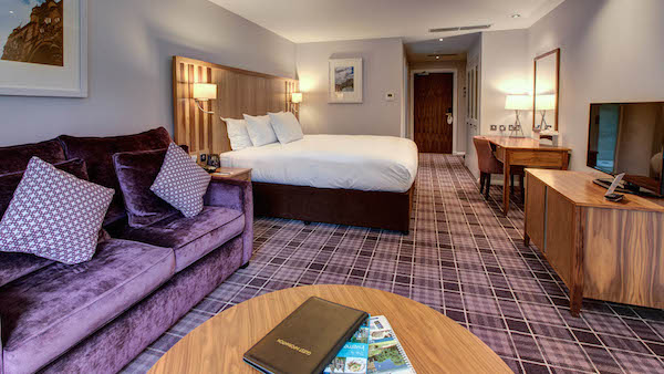 Luxury Room at the Kingsmills Hotel