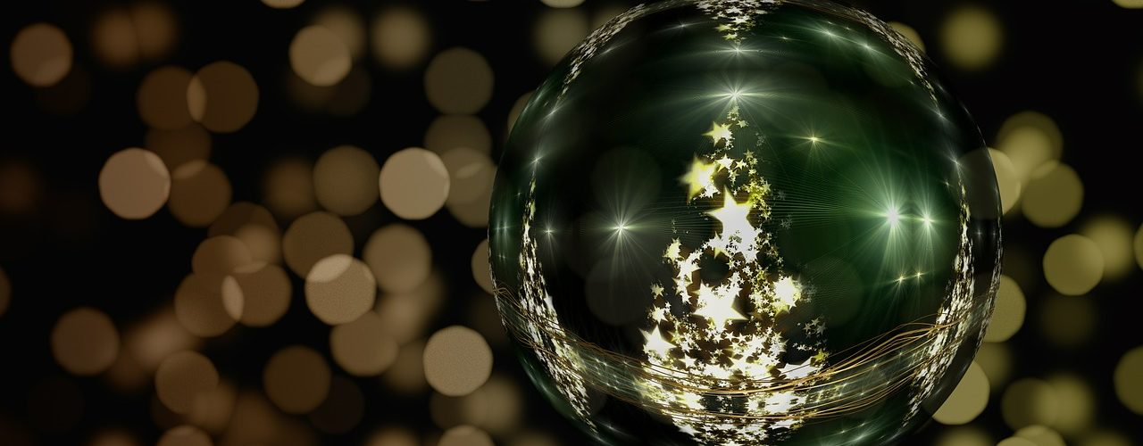 a photo of a christmas decoration